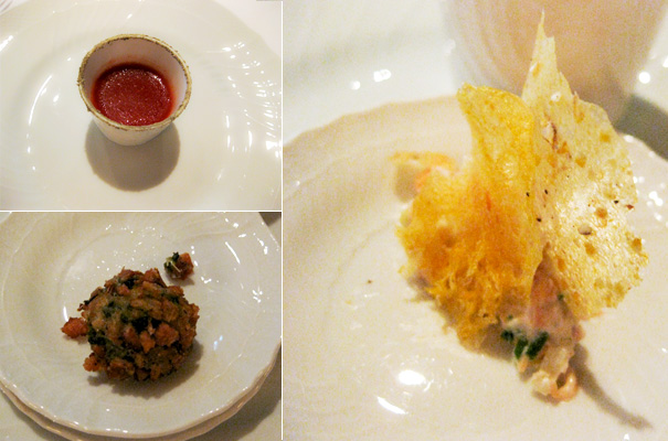 Dinner at Del Posto — Amuse-bouches From the Chef